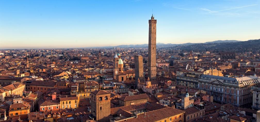 Centro storico de Bologne