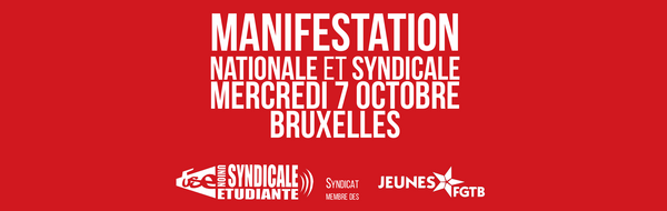 Manifestation syndicale nationale du 7 octobre 2015